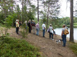 Färden gick vidare till Storsjön.
