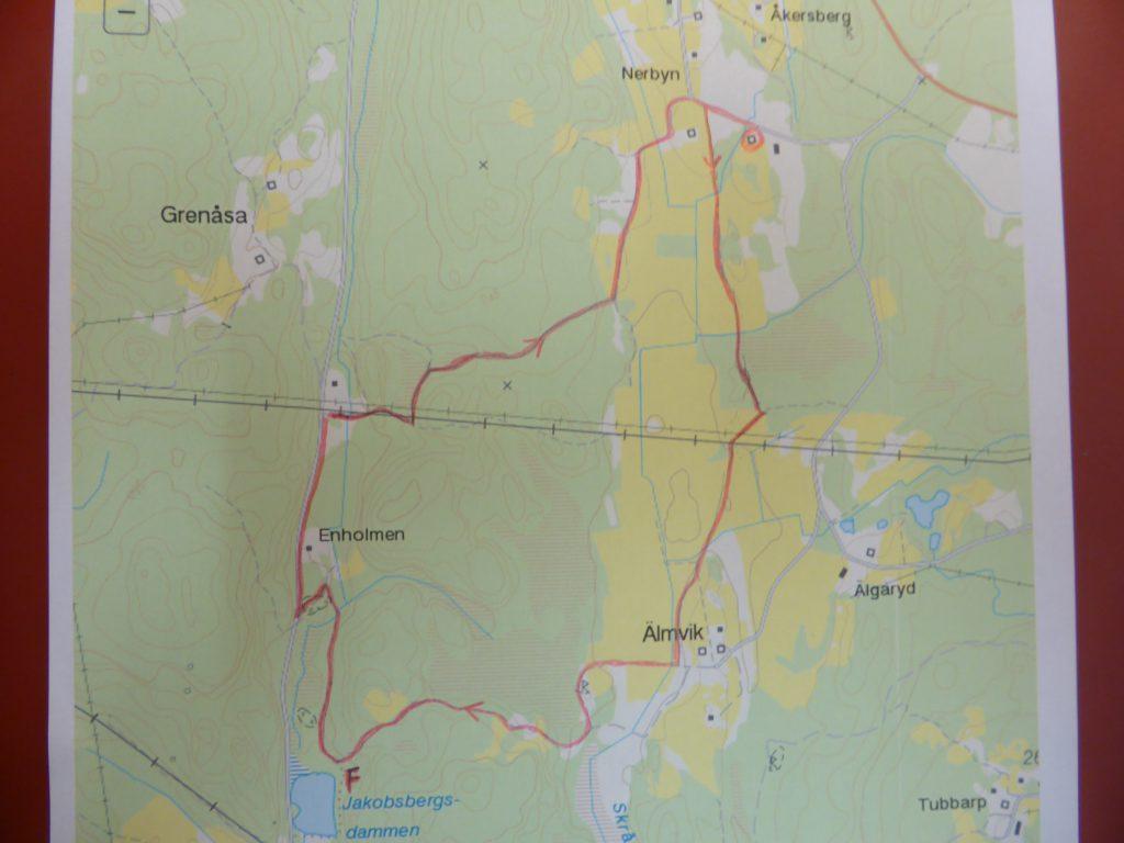 Vi utgick från Solveig o Göran Karlssons gård, Fagerslätt Östergård (Bygget)