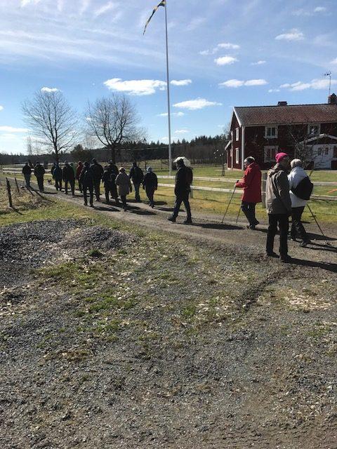 Här passerar Thorssons i Stavsjö
