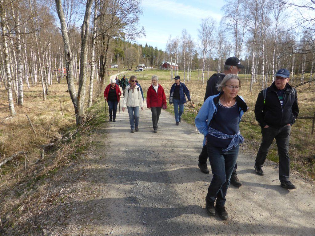 Här har vi redan passerat Sandvik och är på väg mot Långebron.