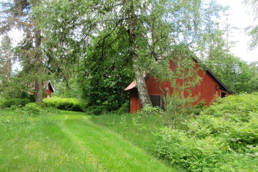 Här låg en gång gården Gyljeryd, som under oklara omständigheter brändes ner för ett antal år sedan.