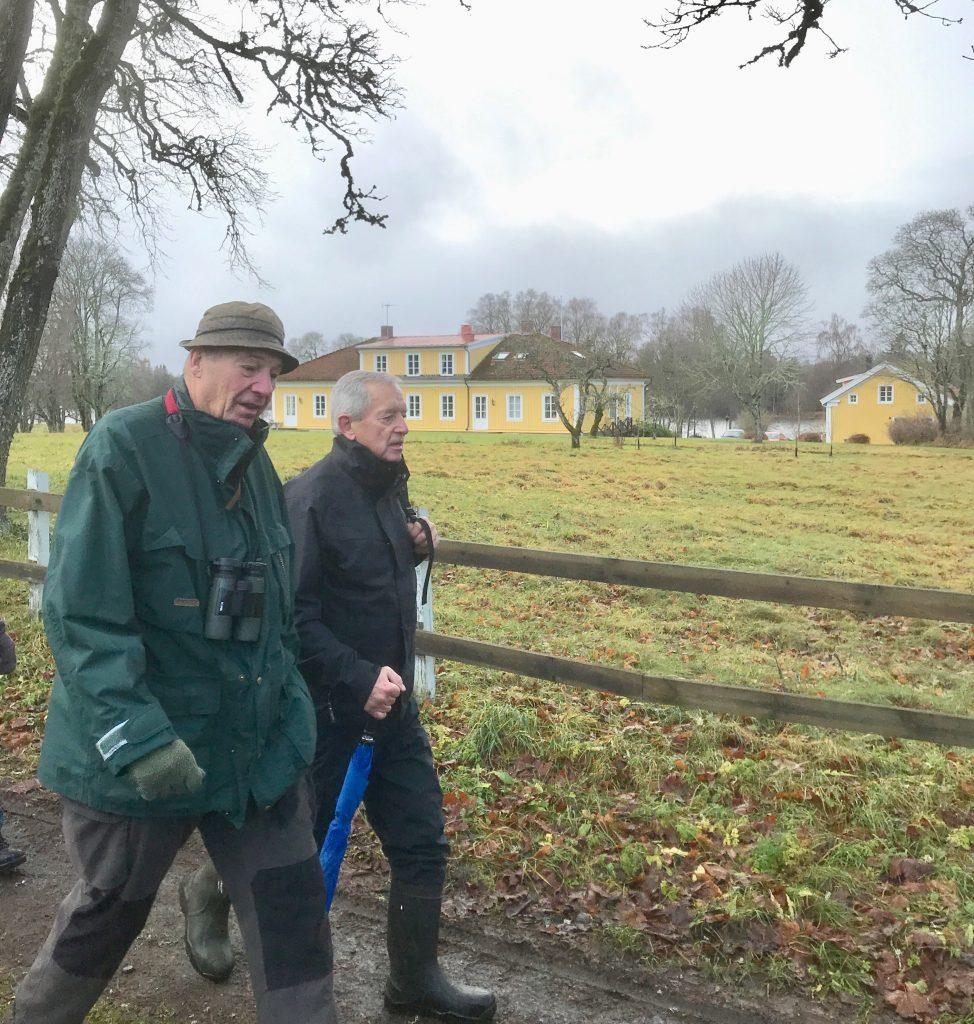 Nöjda återvände vi efter ca 4 km. Tack Eskil för en en fin planering.