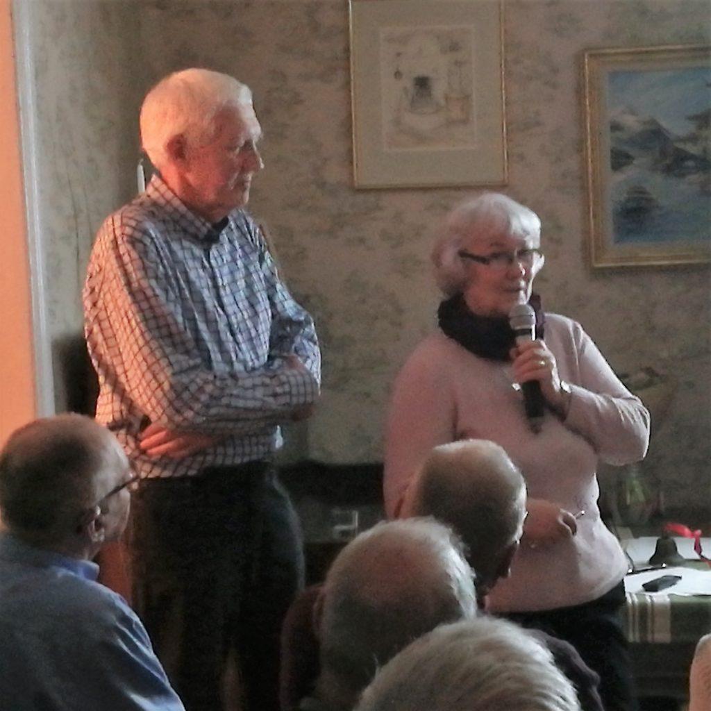 Dagens underhållare var Maria och Lennart Erlandsson från Bankeryd.De visade ett bildspel med vackra bilder från Bohuslän.