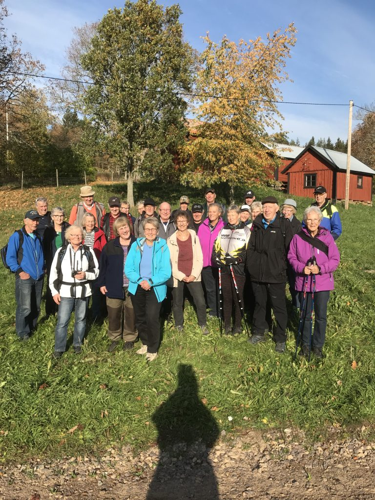 Dagens 27 deltagare, inkl fotograf o guide.