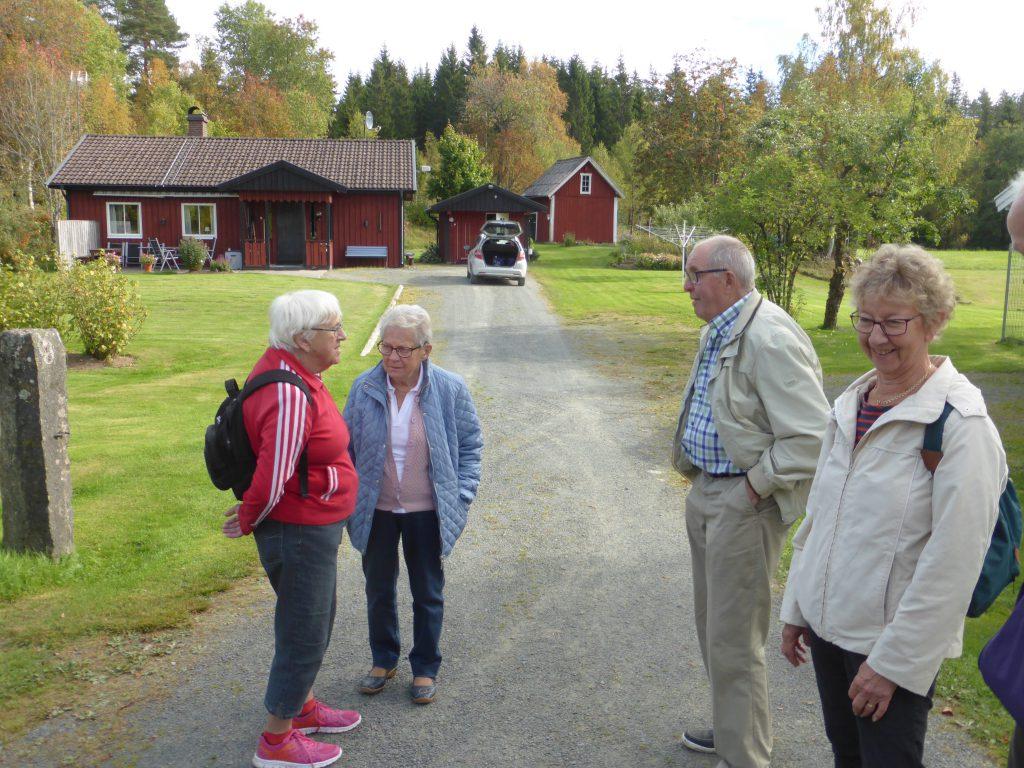 Så var vi tillbaka i Bretoft hos Ragnar och Berit Fridh.