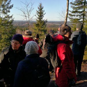 Man kunde se ända bort till Torsvik.