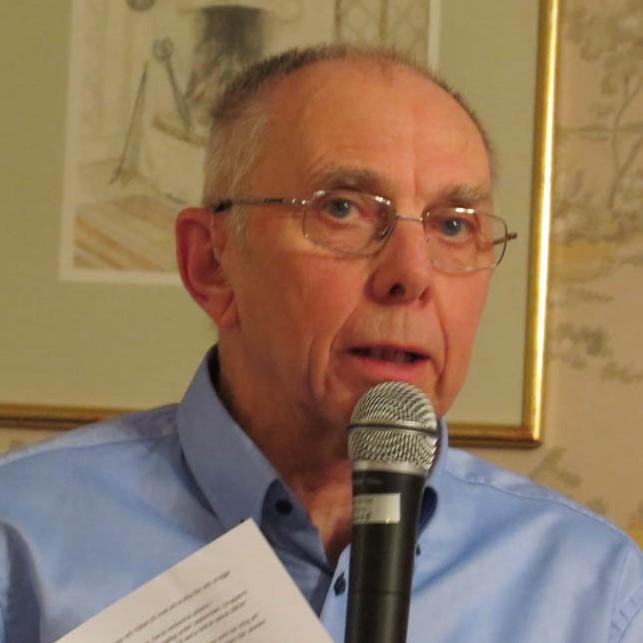 Ordförande Roland Gunnarsson redogjorde för föreningens verksamhet.