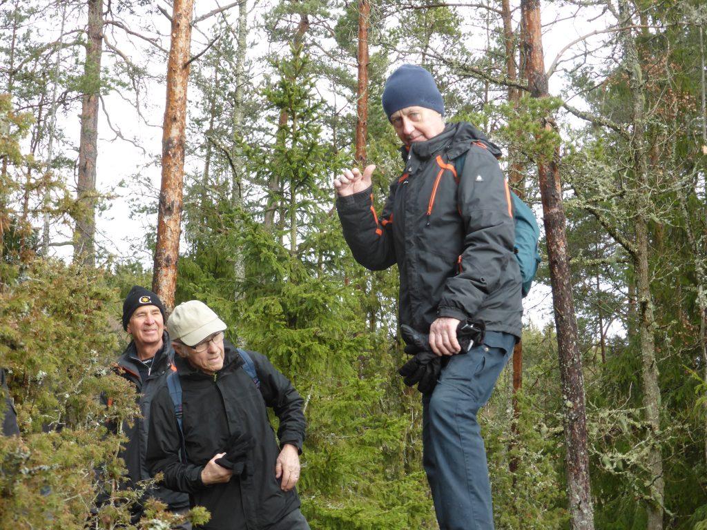 Kjell Andersson triumferade med att komma lite högre än vi andra.