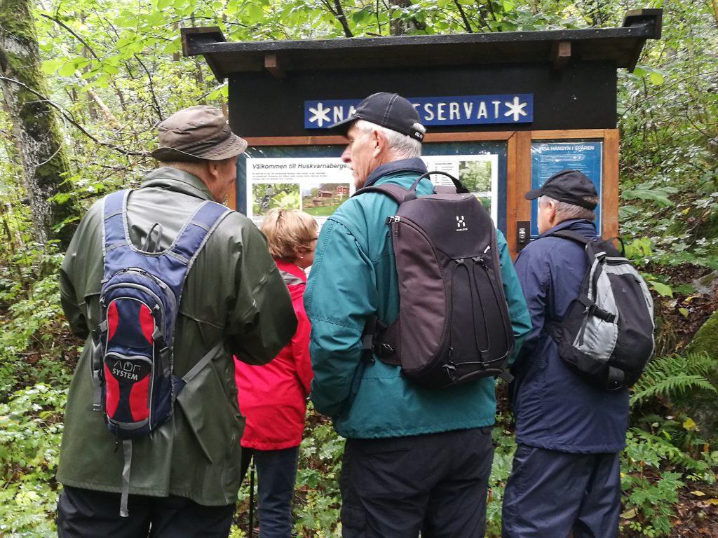 I Huskvarnabergens Naturreservat
