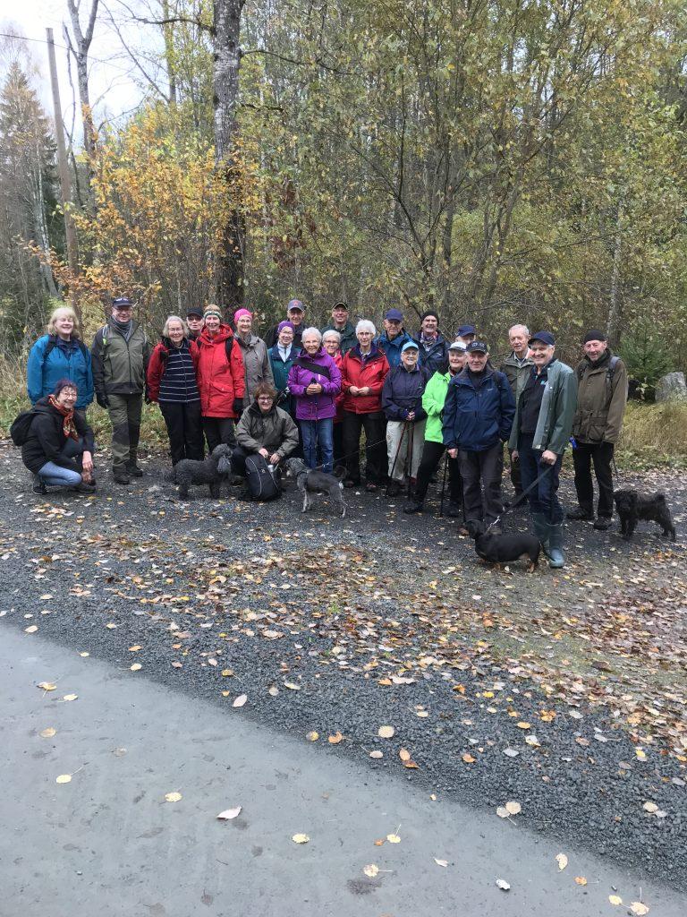 Efter att ha passerat Tolarp (Sveaskog) så var vi åter vid utgångspunkten med en massa ny kunskap om byn Slätteryd.