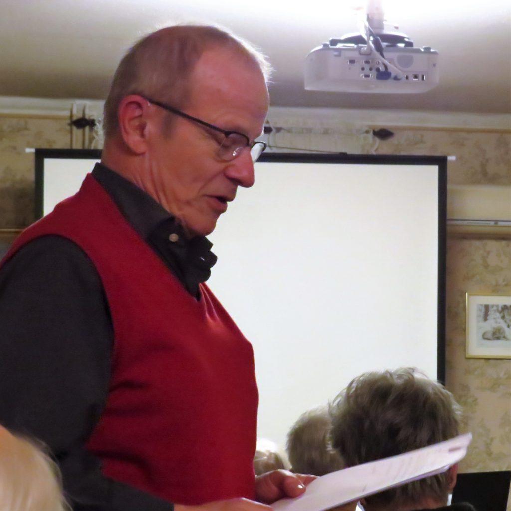 Göran Hjalmarson läste upp revisorernas berättelse.