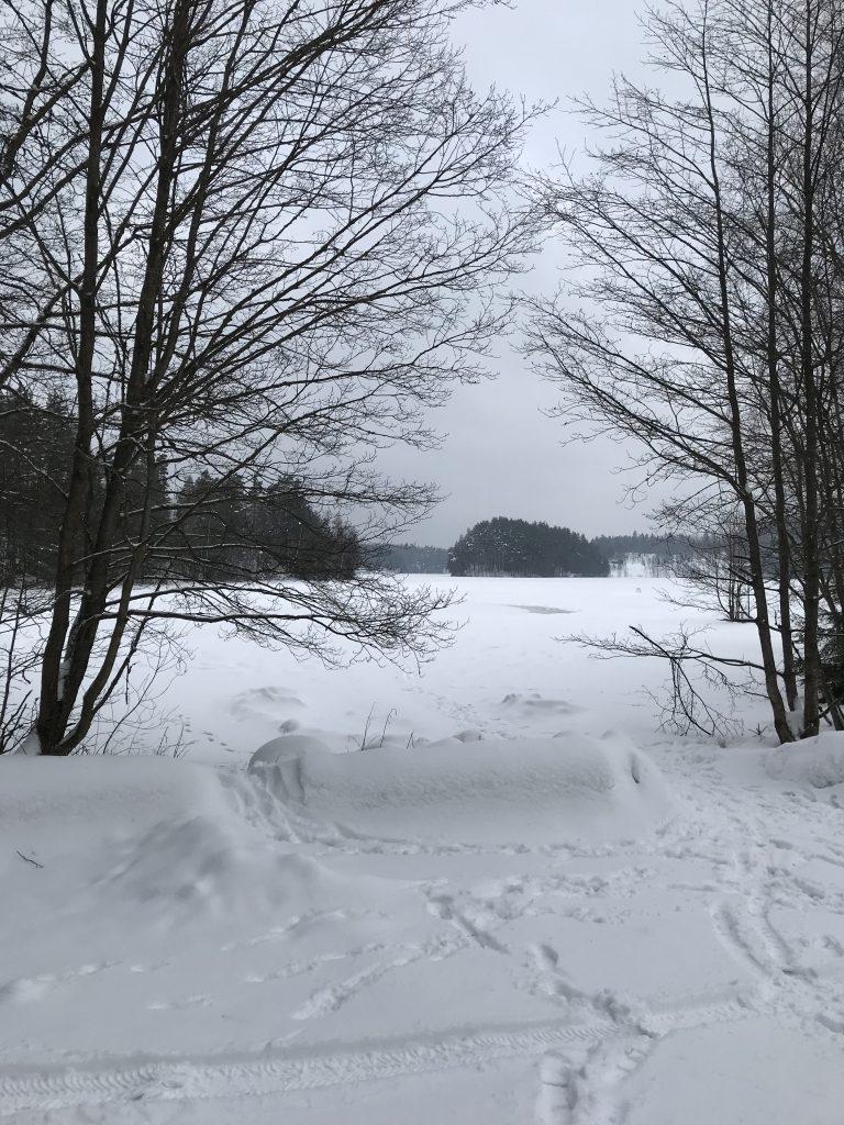 Dock var det ingen som passade på att vinterbada i Storsjön.
