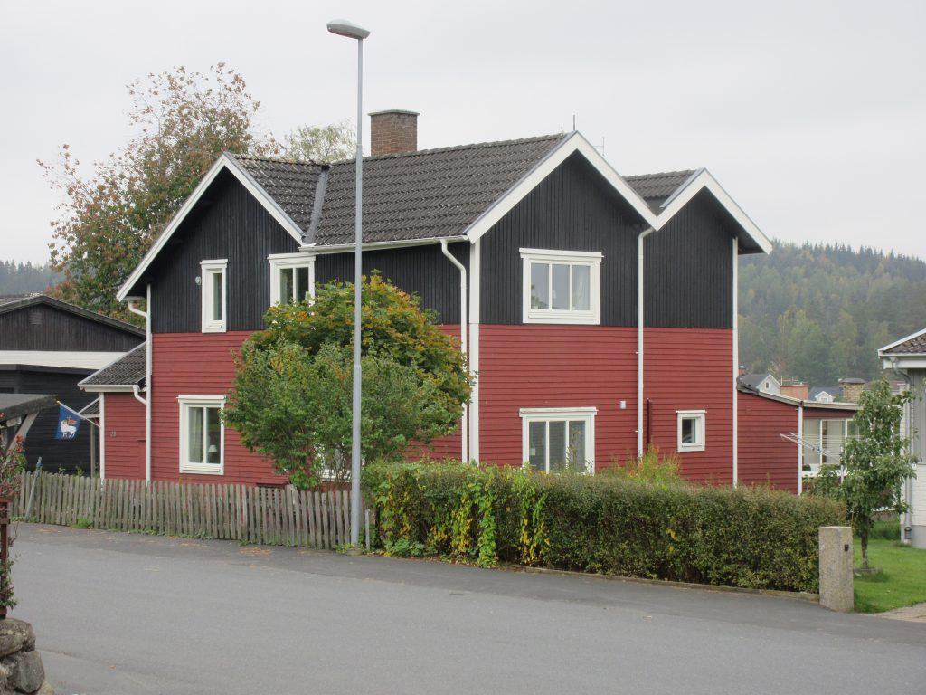 Detta hus ligger i korsningen Ljungarpsvägen - Södra vägen.
