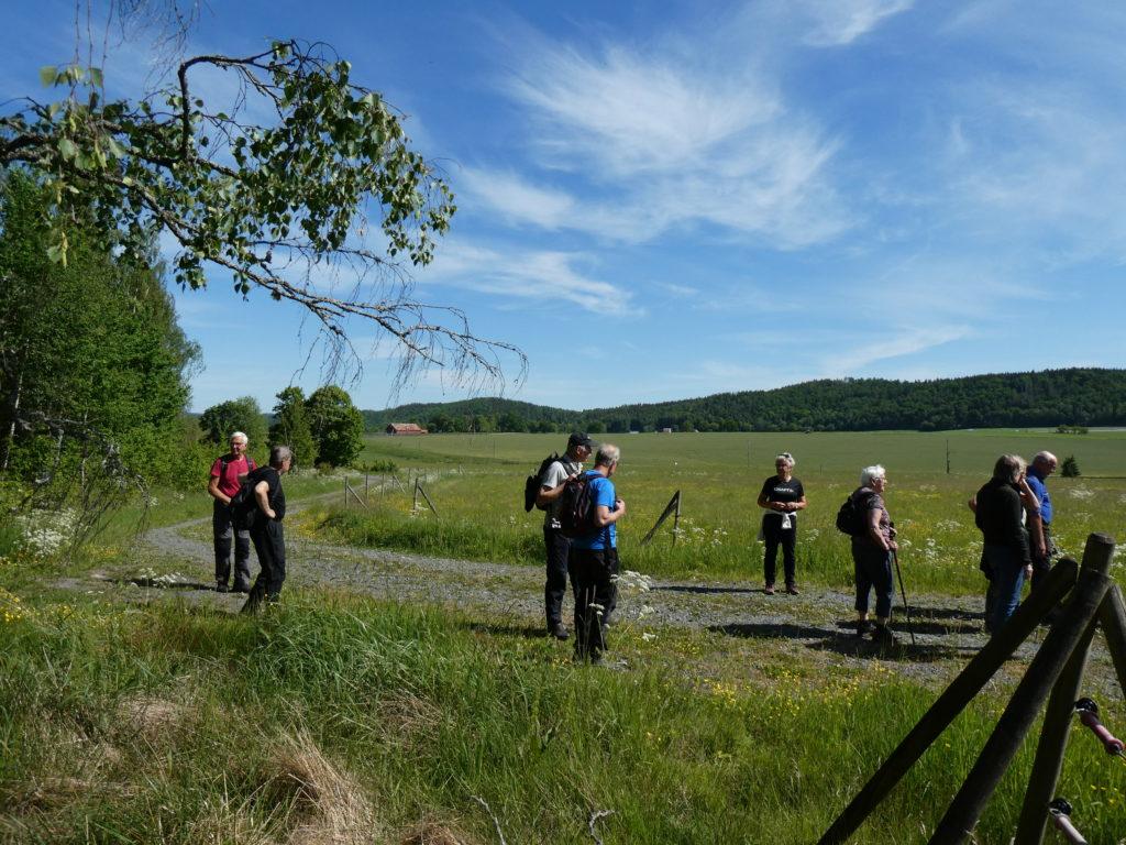 Plötsligt var vi framme vid Bogla och kunde blicka ut över de öppna fälten.