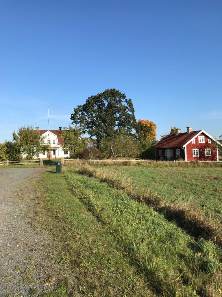 I den röda flygeln vid Bredestad Norrgård hade tegelmästaren sin bostad